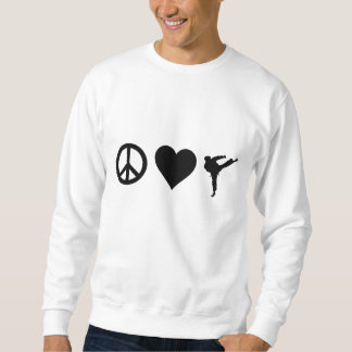 Peace Love Karate Sweatshirt