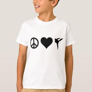 Peace Love Karate T-Shirt