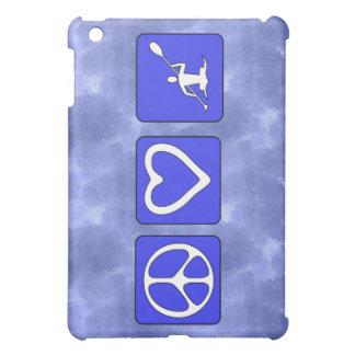 Peace Love Kayaking iPad Mini Cases