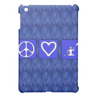 Peace Love Kayaking iPad Mini Covers