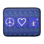 Peace Love Kayaking MacBook Sleeves