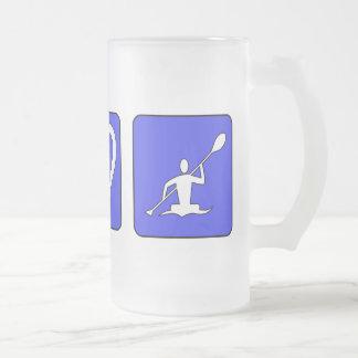 Peace Love Kayaking Mugs