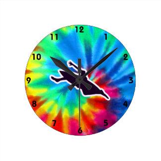 Peace, Love, Kayaking Round Clock