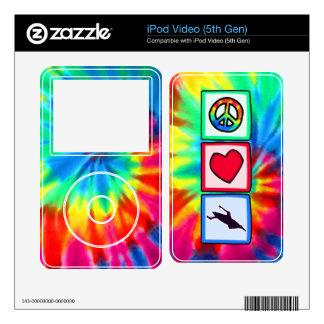 Peace, Love, Kayaking iPod Video Skin