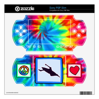 Peace, Love, Kayaking Decals For Sony PSP Slim