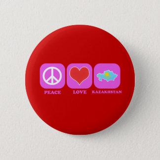 Peace Love Kazakhstan Button