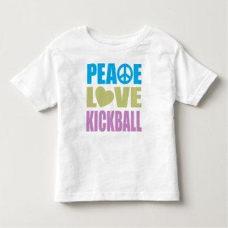 Peace Love Kickball T-shirt