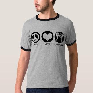 Peace Love kickboxing T-Shirt