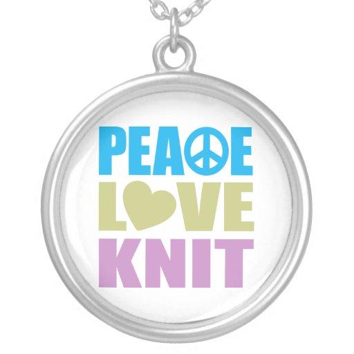 Peace Love Knit Jewelry