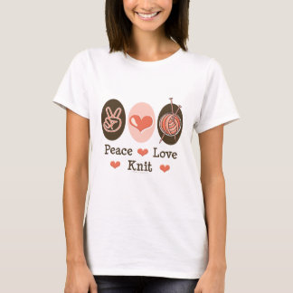 Peace Love Knit T shirt