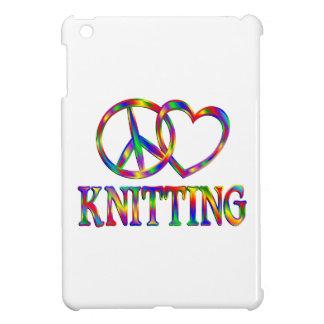 Peace Love Knitting Case For The iPad Mini