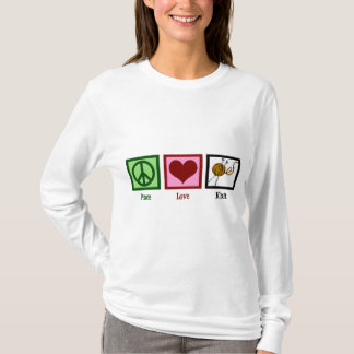 Peace Love & Knitting T-Shirt