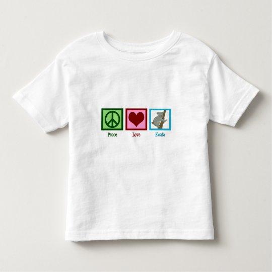 Peace Love Koala Toddler T-shirt