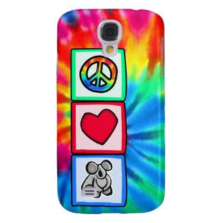 Peace, Love, Koalas Galaxy S4 Cover