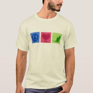 Peace Love Korat T-Shirt