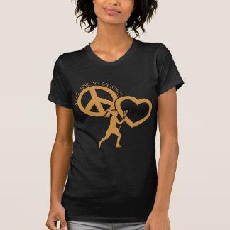 PEACE-LOVE-LACROSSE T-Shirt