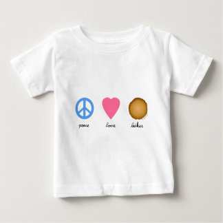 Peace Love Latkes Baby T-Shirt
