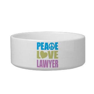 Peace Love Lawyer Bowl