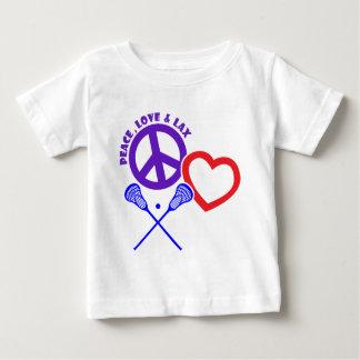 PEACE-LOVE-LAX BABY T-Shirt