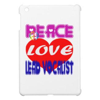 Peace Love Lead Vocalist Case For The iPad Mini