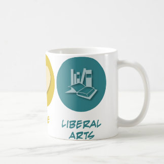 Peace Love Liberal Arts Coffee Mug