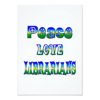 Peace Love Librarians Invite