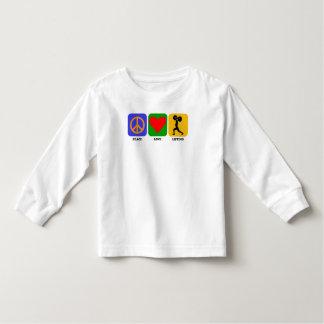 Peace Love Lifting T Shirts