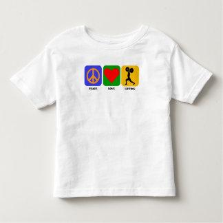 Peace Love Lifting Tee Shirts