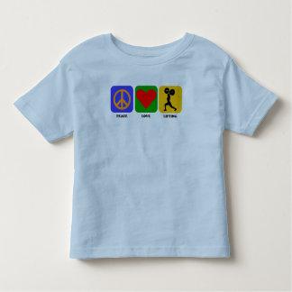Peace Love Lifting Tshirts