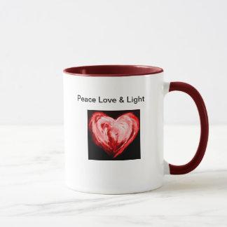 Peace Love & Light Mug