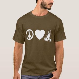 Peace, Love, Linux T-Shirt