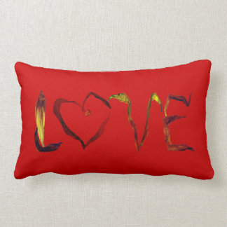 Peace & Love Lumbar Pillow