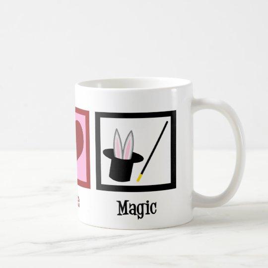 Peace Love Magic Coffee Mug