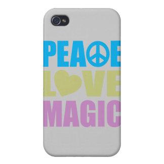 Peace Love Magic iPhone 4 Cover