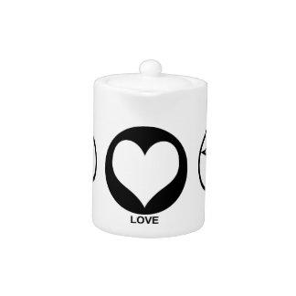 Peace Love Magick Teapot