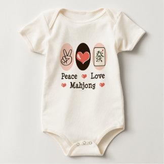 Peace Love Mahjong Infant Creeper