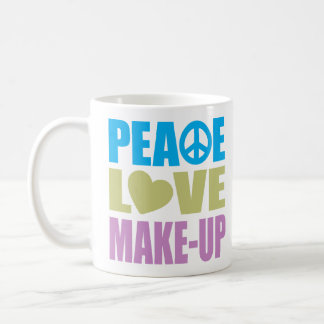 Peace Love Make-Up Coffee Mugs