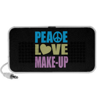 Peace Love Make-Up iPhone Speaker