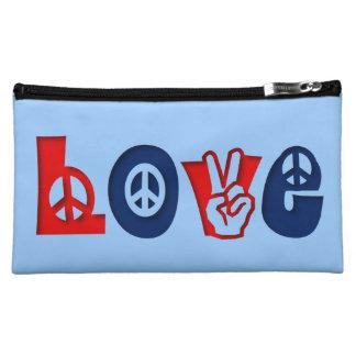 Peace LOVE Makeup Bag
