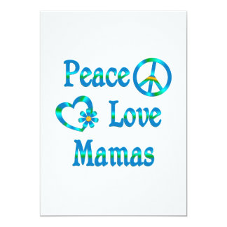 Peace Love Mamas Card