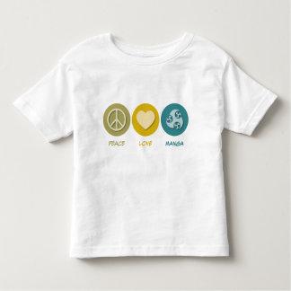 Peace Love Manga T Shirts