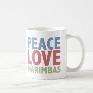 Peace Love Marimbas Coffee Mug