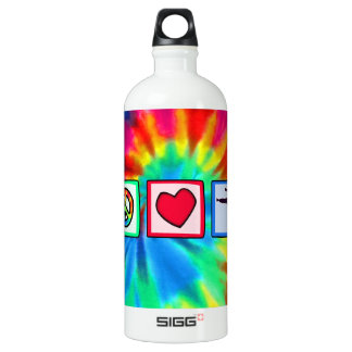 Peace, Love, Martial Arts SIGG Traveler 1.0L Water Bottle
