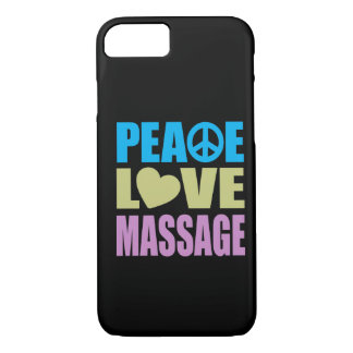 Peace Love Massage iPhone 8/7 Case