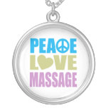 Peace Love Massage Pendants