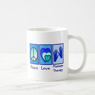 Peace, Love, Massage Therapy Gifts Coffee Mug