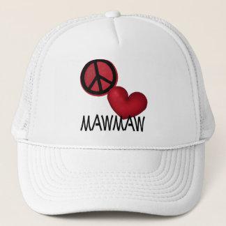 Peace Love MawMaw Trucker Hat