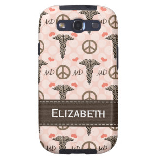 Peace Love MD Doctor Samsung Galaxy SIII Case