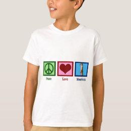 Peace Love Meerkats T-Shirt