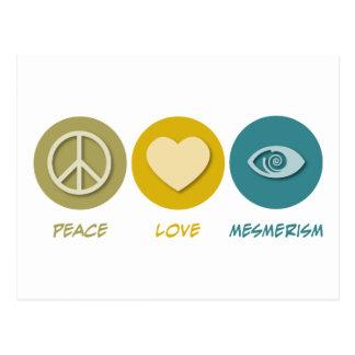 Peace Love Mesmerism Postcard